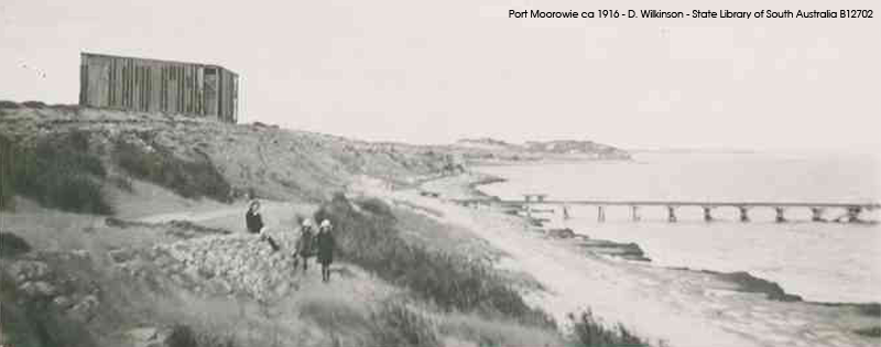 Port Moorowie ca1916 State Library of SA B12702