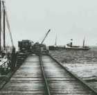 Port Minlacowie jetty 1916 - State Library of South Australia B32231
