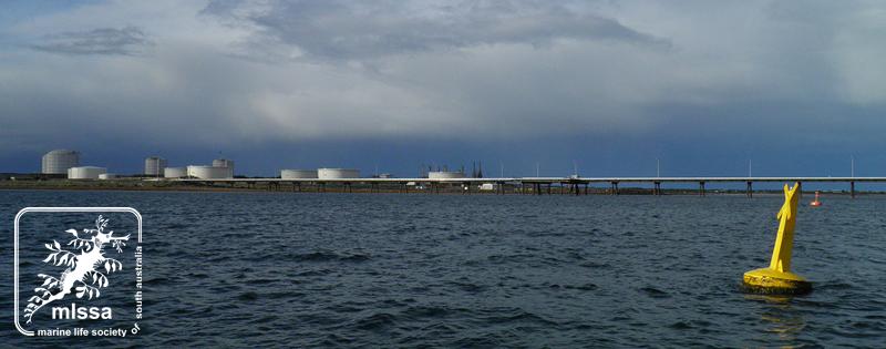Port Bonython & Santos refinery 2011 Dan Monceaux